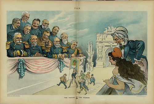 parade of the pigmies, the (1899, cropped)
