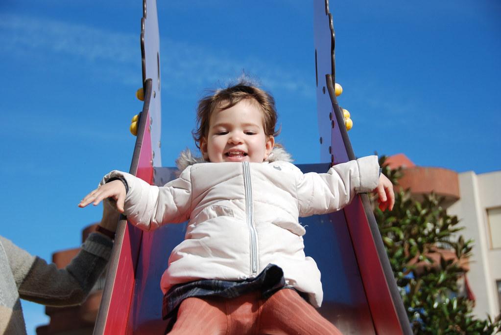 Con todos sus preciosos dientecitos, ¡y eso que ha sido la niña con más teta a sus espaldas del mundo!