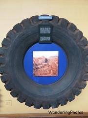 Tyre Exhibit - Ngwenya Mine Visitors Centre Swaziland