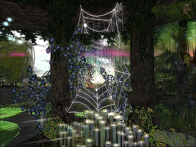 SL14B- Shambhala Sanctuary - The Webs We Weave