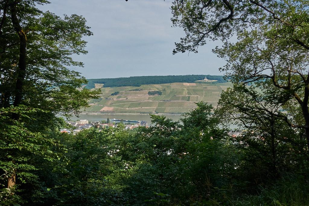Blick auf Germania (Niederwalddenkmal)