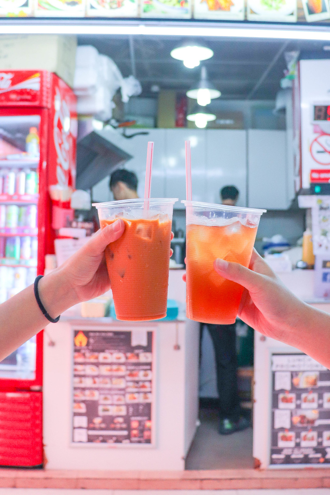 Bugis Street Food: Maenoi Milk Tea