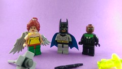 Justice League: Hawkgirl, Batman, and John Stewart