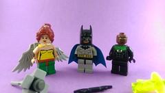 Justice League: Hawkgirl, Batman, and John Stewart