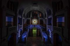 EMD #302 - Entrance Hall at Midnight (blue)