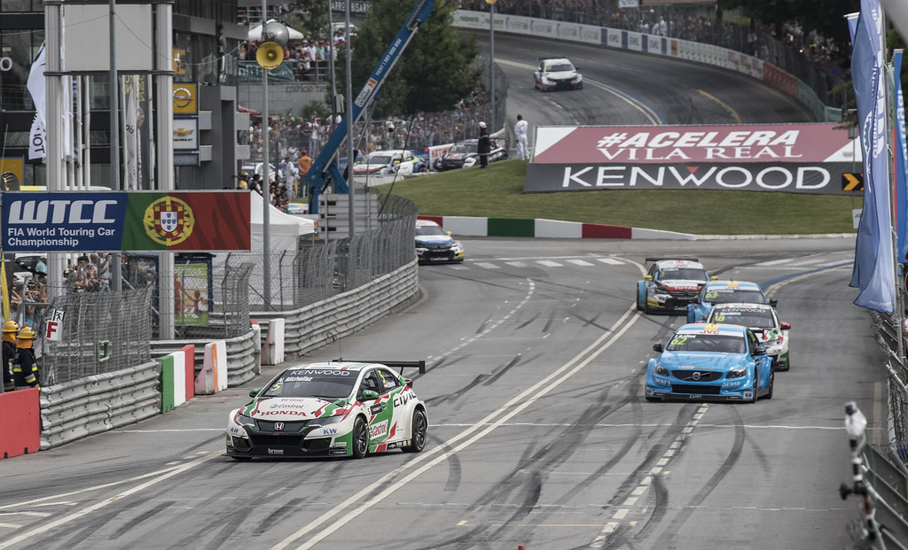 05 MICHELISZ Norbert (hun) Honda Civic team Castrol Honda WTC action during the 2017 FIA WTCC World Touring Car Championship race of Portugal, Vila Real from june 23 to 25 - Photo Gregory Lenormand / DPPI