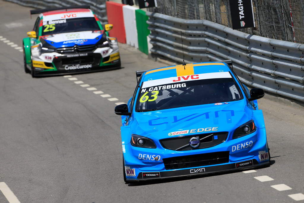 63 CATSBURG Nicky (ned) Volvo S60 Polestar team Polestar Cyan Racing action during the 2017 FIA WTCC World Touring Car Championship race of Portugal, Vila Real from june 23 to 25 - Photo Paulo Maria / DPPI