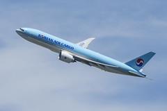 HL8044 - Korean Air Cargo - Boeing 777F