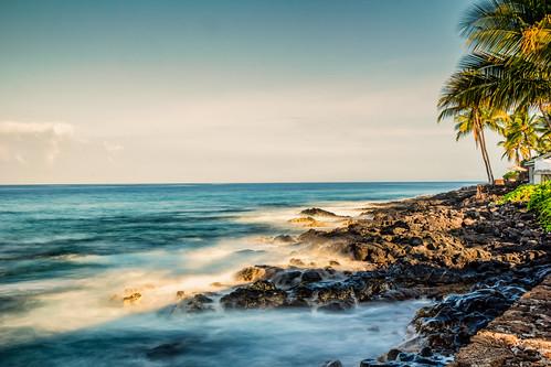 sunrise hawaii bigisland iphoto kailuakona unitedstates us