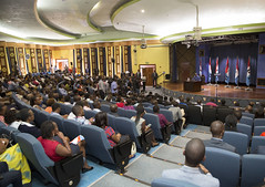President Kagame speaks to local, regional and international press following the presentation of his presidential candidature to the National Electoral Commission | Kigali, 22 June 2017