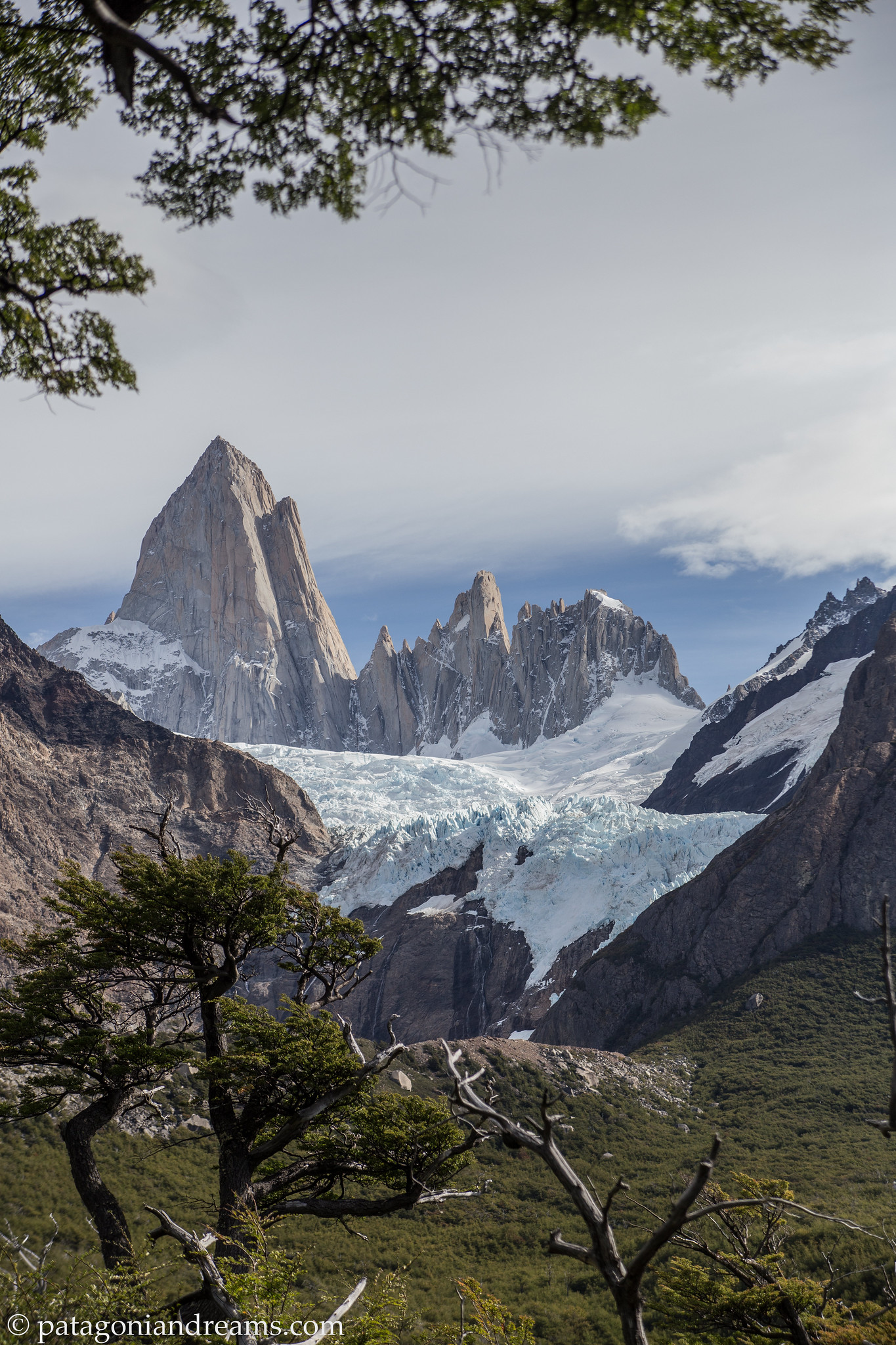 Classic viewport, day 3 of the trek, NP Los Glaciares, Patagonia, Argentina.