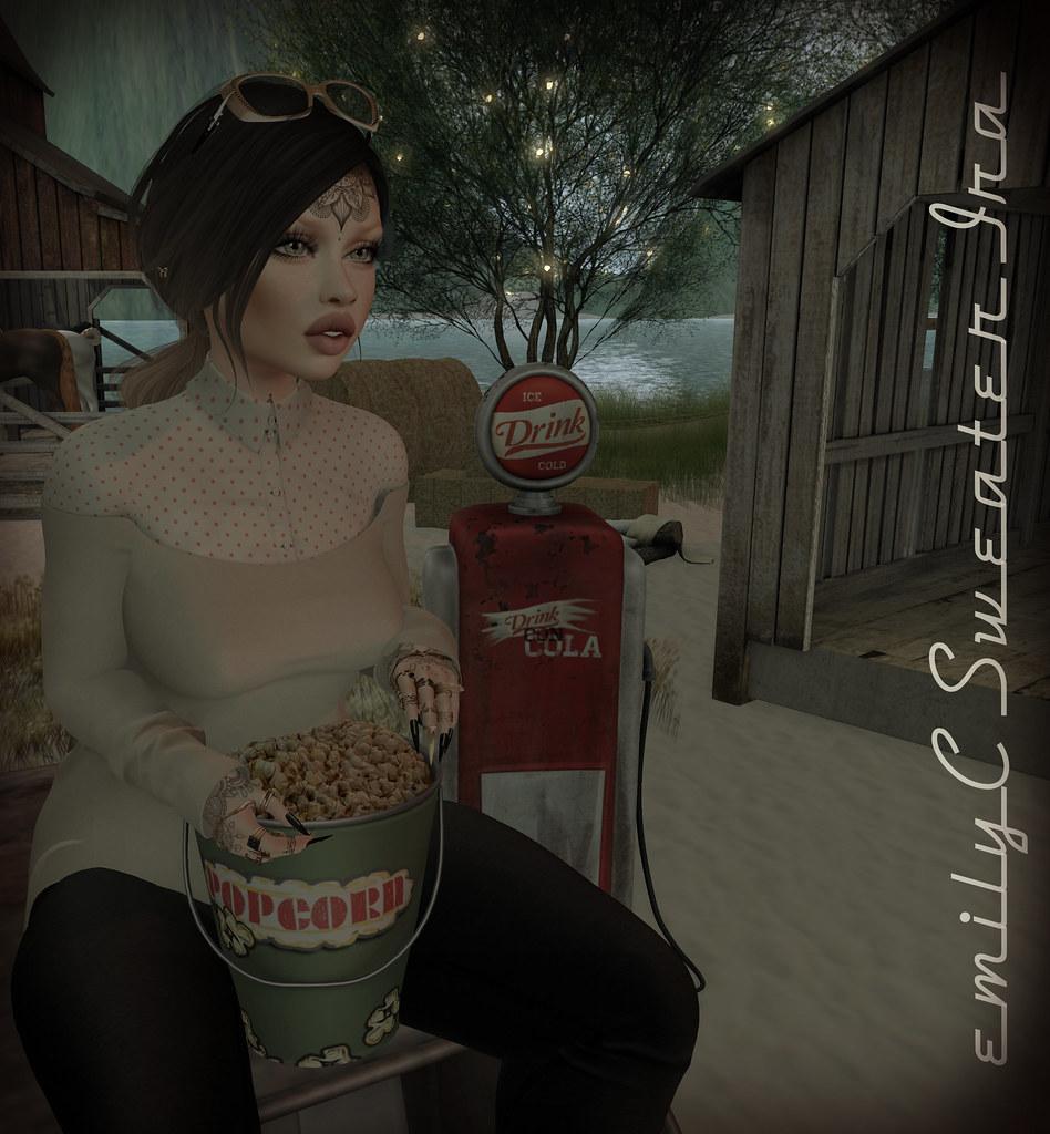 EmilyC Sweater Ira // Maitreya Belleza Slink p+h - SecondLifeHub.com