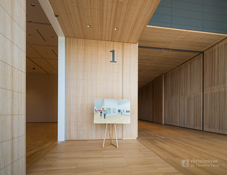 Space 1 in Toyama Prefectural Museum of Art & Design (富山県美術館)