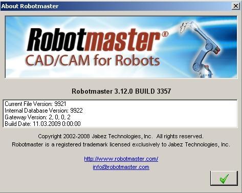 Robotmaster for MasterCam X3