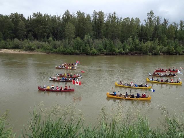 Fort Assiniboine Voyageur Brigade Event - June 28, 2017