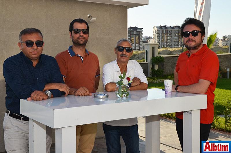 Abdullah Akın, Yusuf Ergin, Naim Hezer, Cüneyd Patkavak