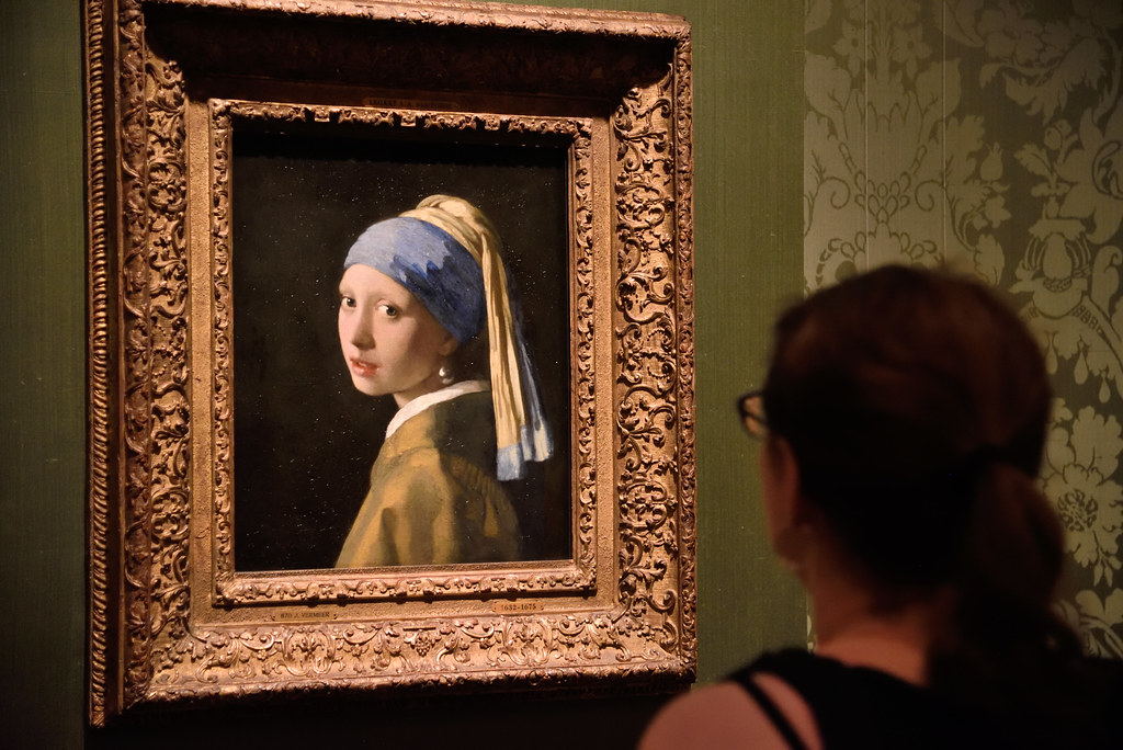Vermeer Girl with a Pearl Earring, Mauritshuis, The Hague