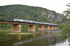 Capitol Limited At Harper's Ferry