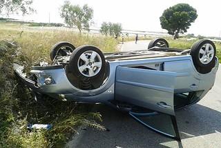 Noicattaro. Incidente S.P. 131 front