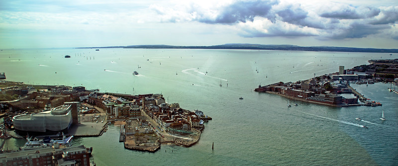Portsmouth Harbour and Solent