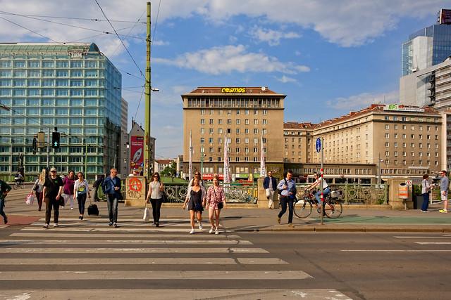 Vienna / Frantz-Josefs-Kai / Schwedenplatz