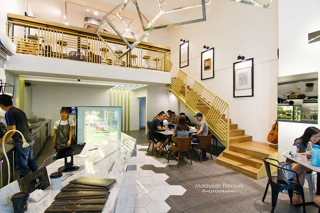 Ziffy kitchen espresso bar sunway nexis kota for Food bar kota damansara