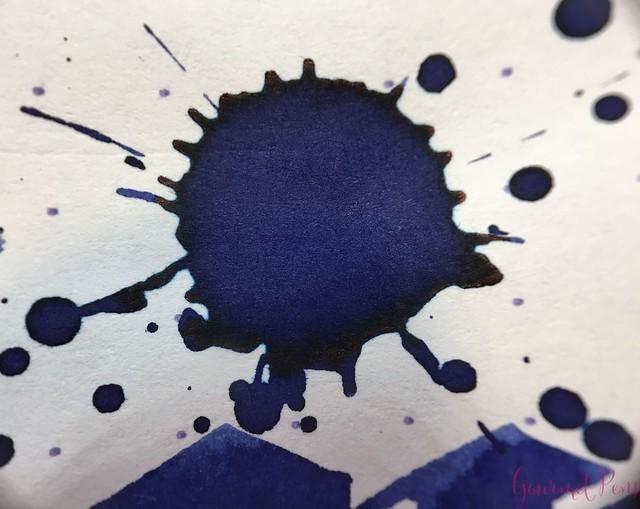 Ink Shot Review Diamine Anniversary Tudor Blue @AppelboomLaren 11