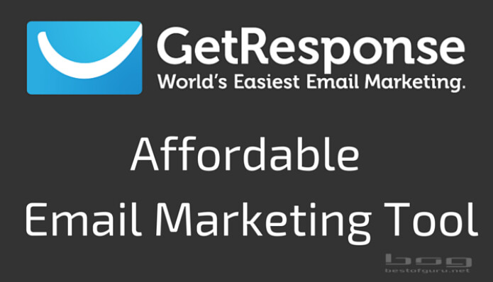 getresponse affordable email marketing tool