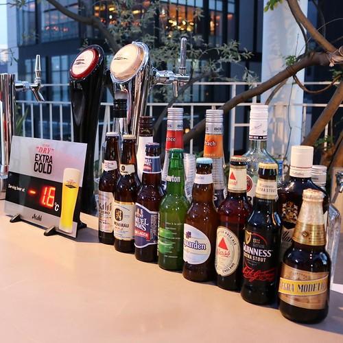 クラフトビールも。飲み放題コースだと追加料金で飲めます。
