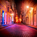 The Streets Of Old San Juan At Night by Trey Ratcliff