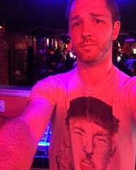 @jstevensdj sporting the trumpler shirt Find yours at pollyandcrackers.com link in bio
