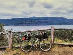 Bridal Veil Overlook, Columbia River Gorge. #bridalveilfalls #columbiagorge #midweekgorgeridejune2017 #pedalpalooza2017 #pedalpalooza