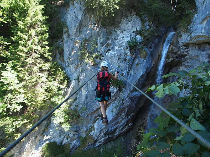Klettersteig Montafon : Wasserfall klettersteig st anton im montafon else