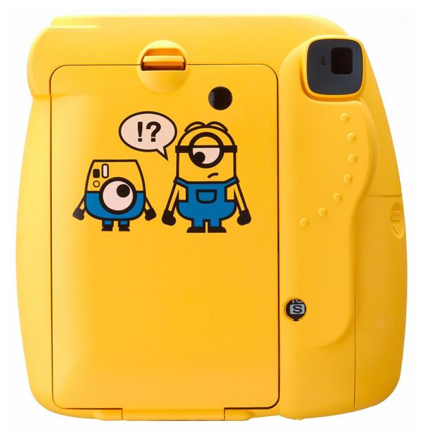 專業小小兵迷必備收藏!Fujifilm 小小兵 instax Mini 8 拍立得相機 Minion Instax mini 8 Instant Film Camera