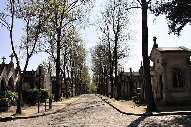 Calle principal Cementerio de Père-Lachaise