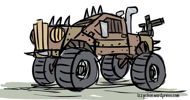 mad maxx truck