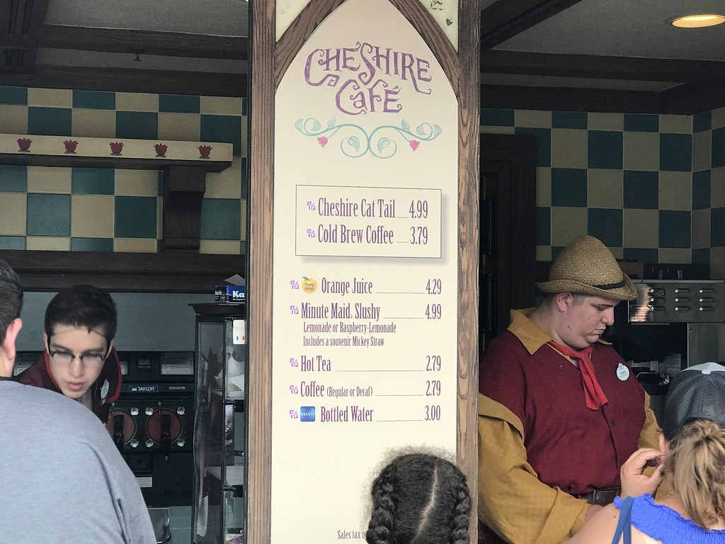Cheshire Cafe Menu, June 2017