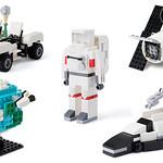 香港限定!!超棒的贈品【Space-Themed Mini-Builds】太空主題迷你組說明書!!