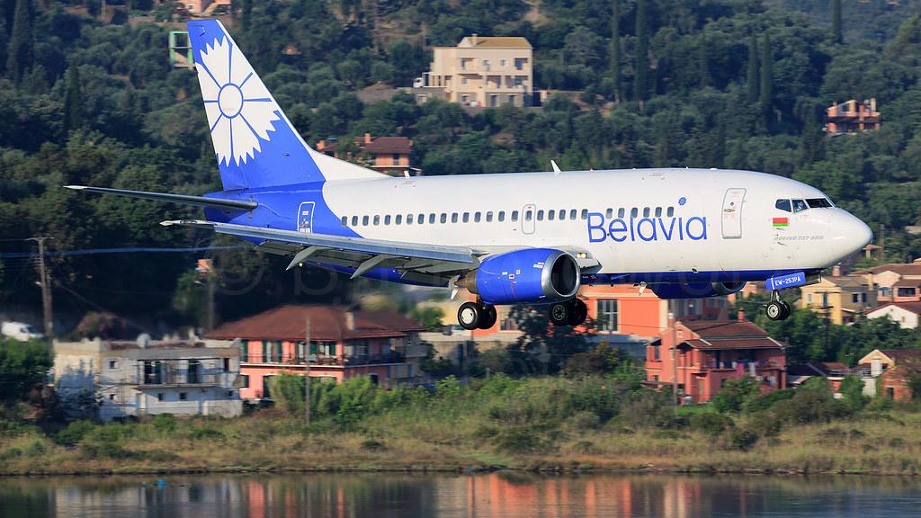 Belavia Boeing B737-5 EW-253PA