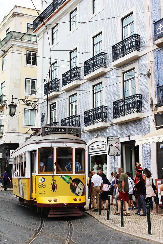 tramway 28 Lisboa Bairro Alto
