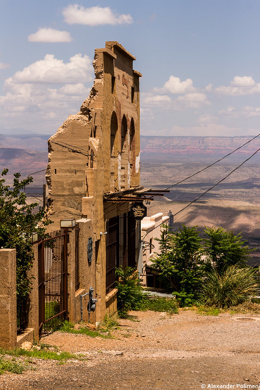 Jerome, overlooking the valley