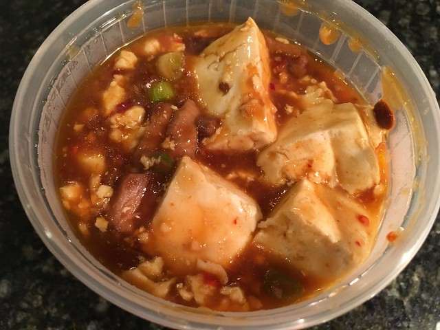 Ma po tofu - China King Restaurant