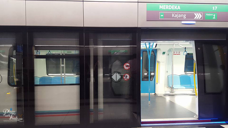MRT Merdeka Station train