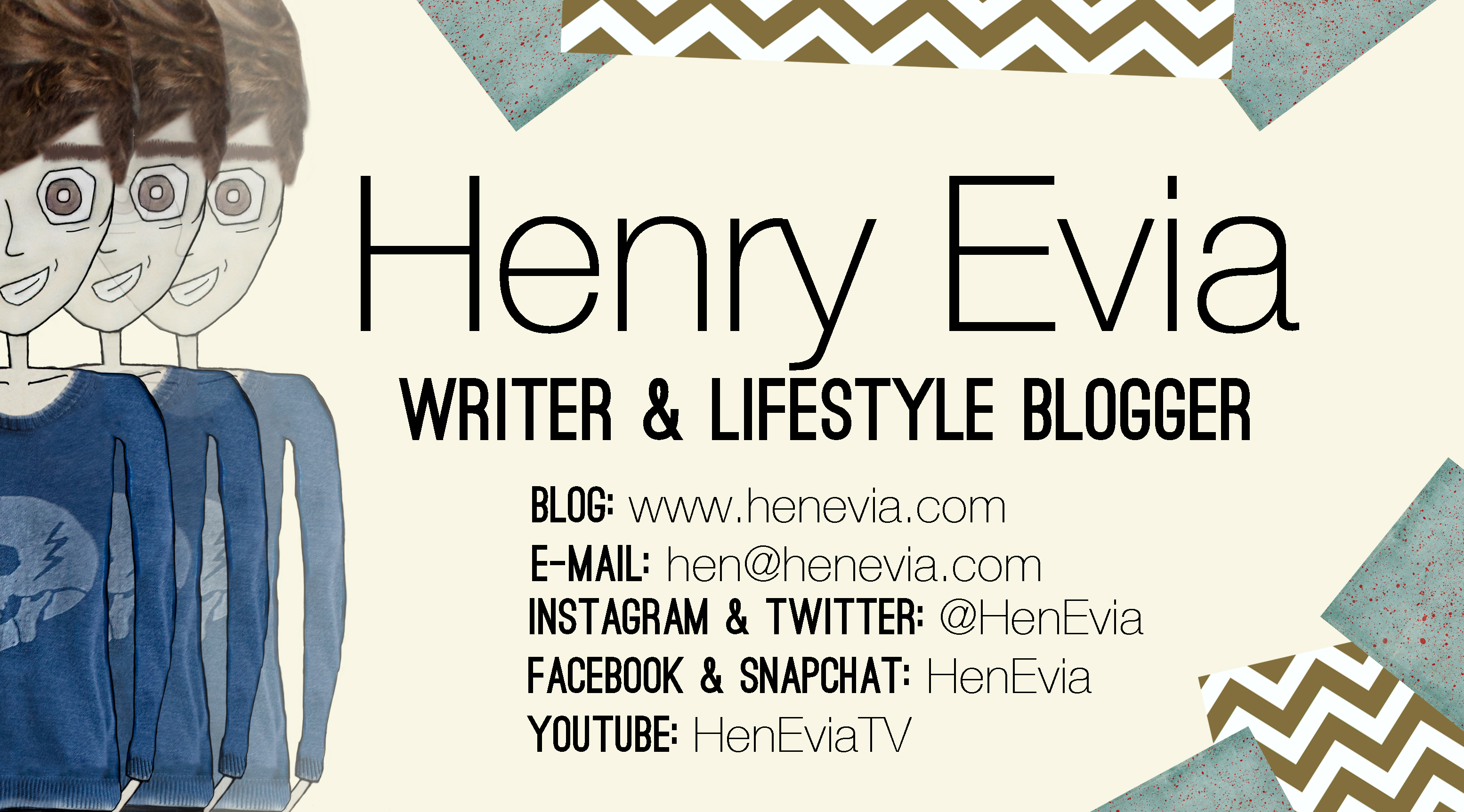 Henry Evia Business Card