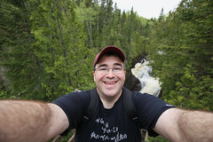 Me, me, me - In northern Minnesota with 16mm lens