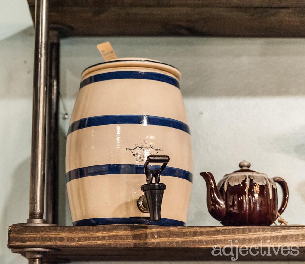 Vintage beverage dispenser in Winter Park by The Resurrected Owl