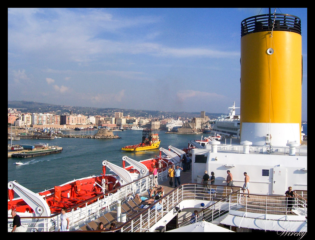 Crucero por el Mediterráneo - Civitavecchia