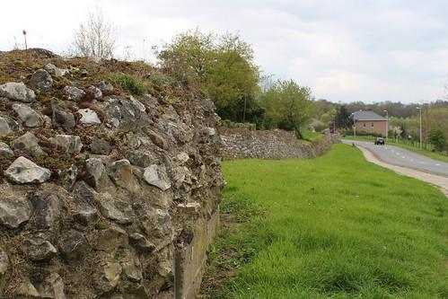 Roman Wall in Tongeren