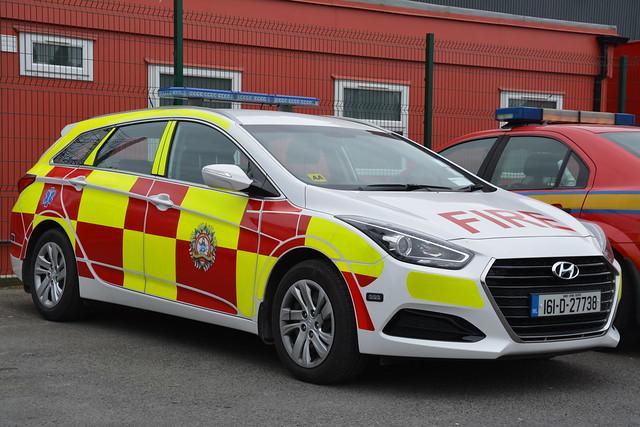 Dublin Fire Brigade 2016 Hyundia I40 Tourer HPMP Fire DTU 161D27738