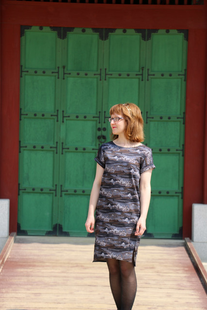 Named Inari Tee Dress in Liberty Cotton Lawn